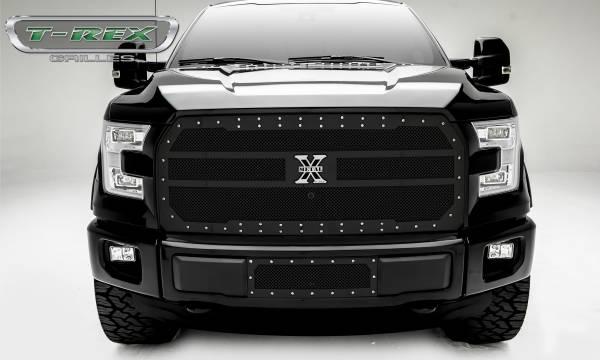 T-Rex - T-Rex X-Metal Grille, Black, Mild Steel, 1 Pc, Replacement 6715741