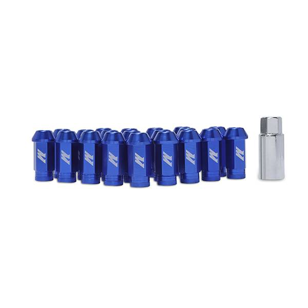 Mishimoto - FLDS Mishimoto Aluminum Locking Lug Nuts, M12 x 1.25 MMLG-125-LOCKBL