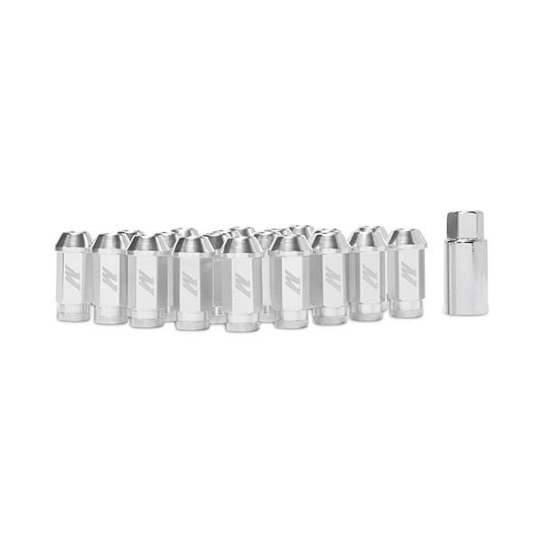 Mishimoto - FLDS Mishimoto Aluminum Locking Lug Nuts, M12 x 1.25 MMLG-125-LOCKSL