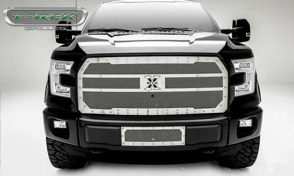 T-Rex - T-Rex X-Metal Grille, Black, Mild Steel, 1 Pc, Replacement 6715740