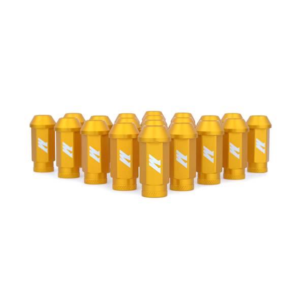 Mishimoto - FLDS Mishimoto Aluminum Competition Lug Nuts, M12 X 1.5 MMLG-15-GD