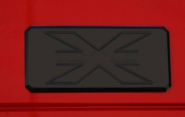 T-Rex - T-Rex Emblem Universal, Black, Aluminum, 1 Pc, Tape 6700011