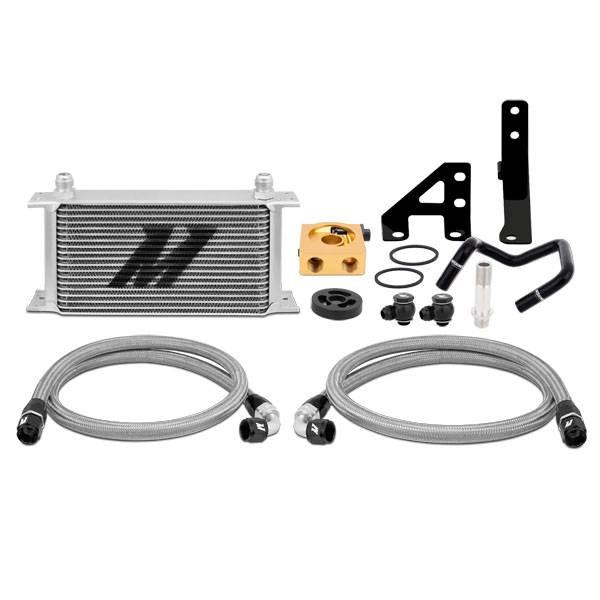 Mishimoto - FLDS Subaru WRX Thermostatic Oil Cooler Kit MMOC-WRX-15T