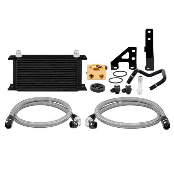 Mishimoto - FLDS Subaru WRX Thermostatic Oil Cooler Kit MMOC-WRX-15TBK