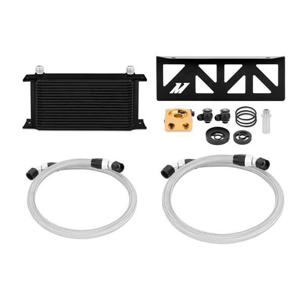 Mishimoto - FLDS Subaru BRZ / Scion FR-S Thermostatic Oil Cooler Kit, Black MMOC-BRZ-13TBK
