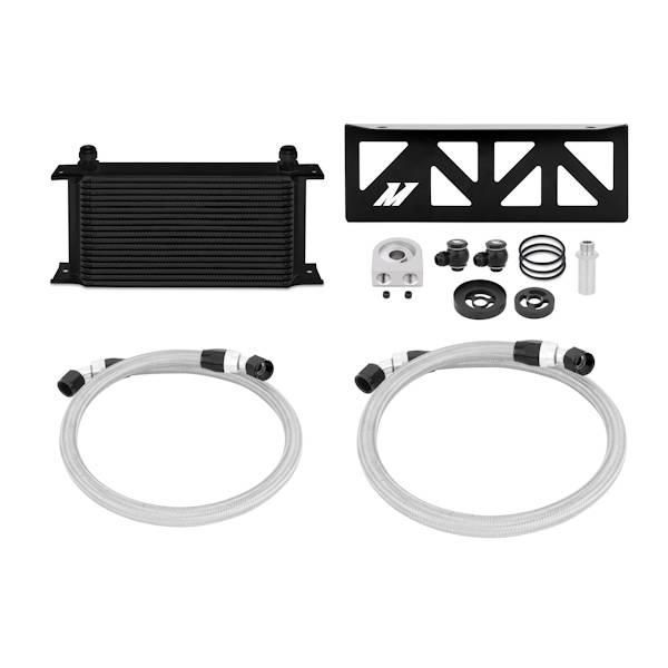 Mishimoto - FLDS Subaru BRZ / Scion FR-S Oil Cooler Kit, Black MMOC-BRZ-13BK