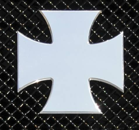 T-Rex - T-Rex Emblem Universal, Polished, Stainless Steel, 1 Pc, Bolt-On 6700050