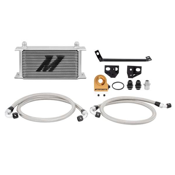 Mishimoto - FLDS Ford Mustang EcoBoost Thermostatic Oil Cooler Kit MMOC-MUS4-15T