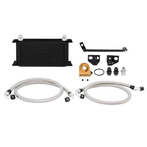 Mishimoto - FLDS Ford Mustang EcoBoost Thermostatic Oil Cooler Kit MMOC-MUS4-15TBK