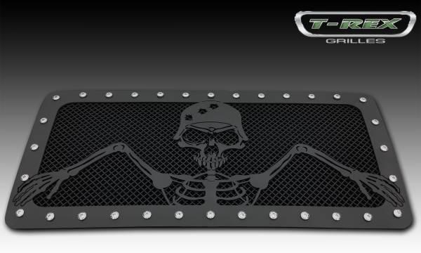 T-Rex - T-Rex Grunt Grille, Black, Mild Steel, 1 Pc, Insert 7114836