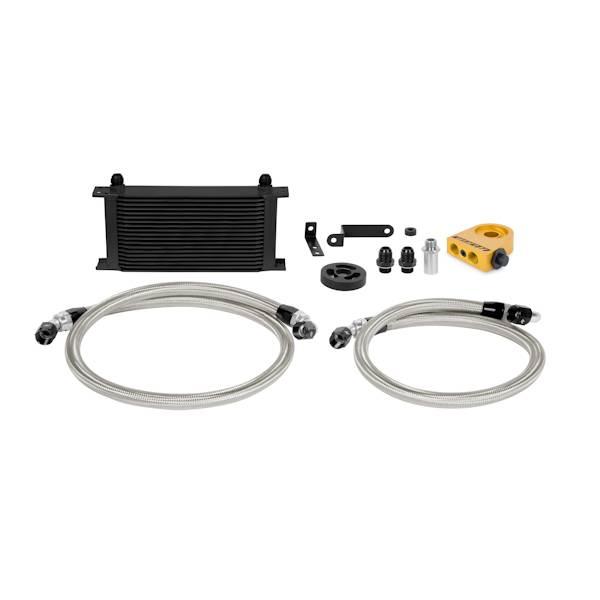 Mishimoto - FLDS Subaru WRX Thermostatic Oil Cooler Kit, Black MMOC-WRX-08TBK