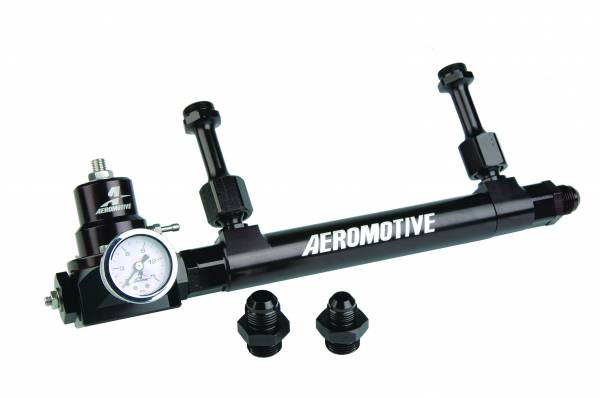 Aeromotive Fuel System - Aeromotive Fuel System Fuel Rail Regulator Kit, Incl 14201 Adj Fuel Log, 13212 Regulator 17248
