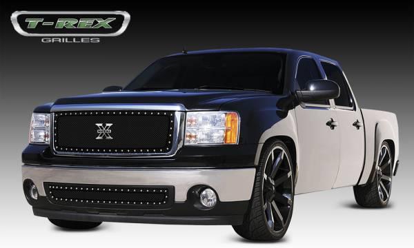 T-Rex - T-Rex X-Metal Grille, Black, Mild Steel, 1 Pc, Insert 6712051