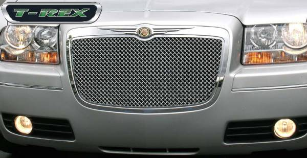 T-Rex - T-Rex Hybrid Grille, Chrome, Aluminum, 1 Pc, Replacement 80471