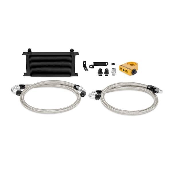 Mishimoto - FLDS Subaru WRX STI Thermostatic Oil Cooler Kit, Black MMOC-STI-08TBK