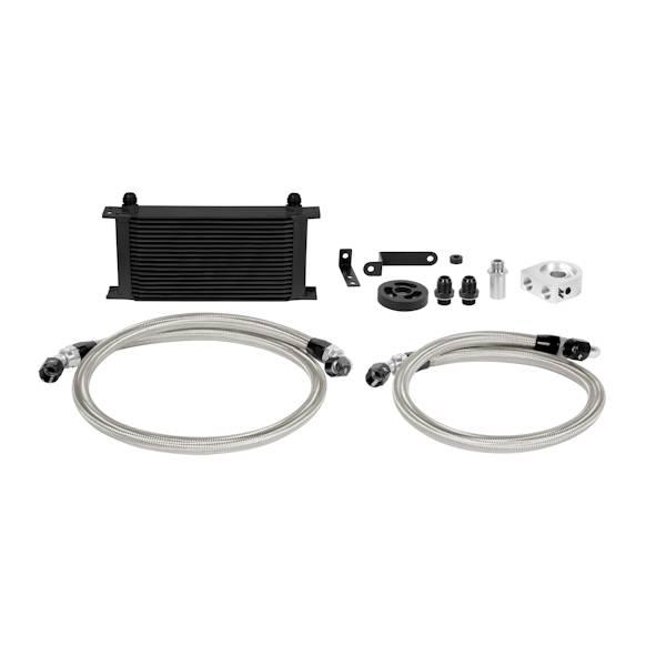 Mishimoto - FLDS Subaru WRX Oil Cooler Kit, Black MMOC-WRX-08BK
