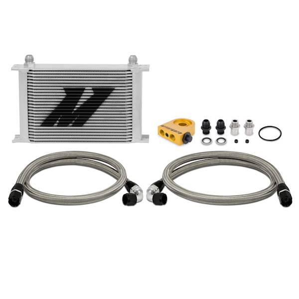 Mishimoto - FLDS Universal Thermostatic Oil Cooler Kit, 25 Row MMOC-UHT