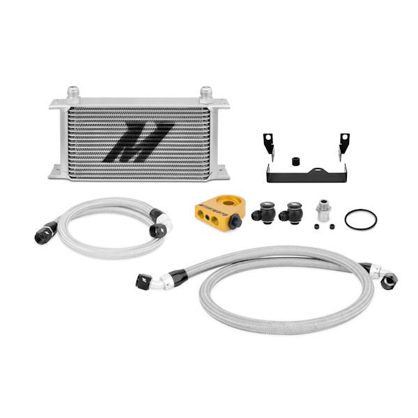 Mishimoto - FLDS Subaru WRX/STi Thermostatic Oil Cooler Kit MMOC-WRX-06T