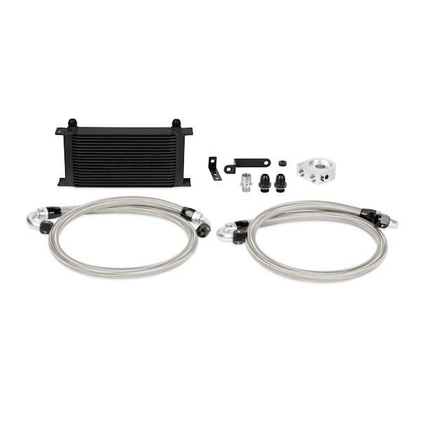 Mishimoto - FLDS Subaru WRX STI Oil Cooler Kit, Black MMOC-STI-08BK