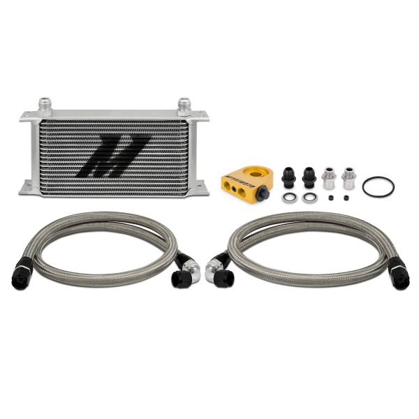 Mishimoto - FLDS Universal Thermostatic 19 Row Oil Cooler Kit MMOC-ULT