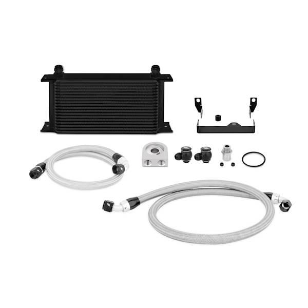 Mishimoto - FLDS Subaru WRX/STi Oil Cooler Kit, Black MMOC-WRX-06BK