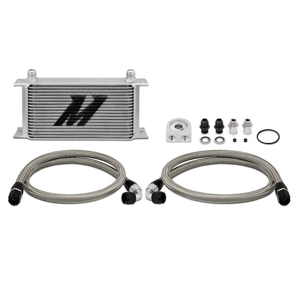 Mishimoto - FLDS Universal Oil Cooler Kit, 19 Row MMOC-UL