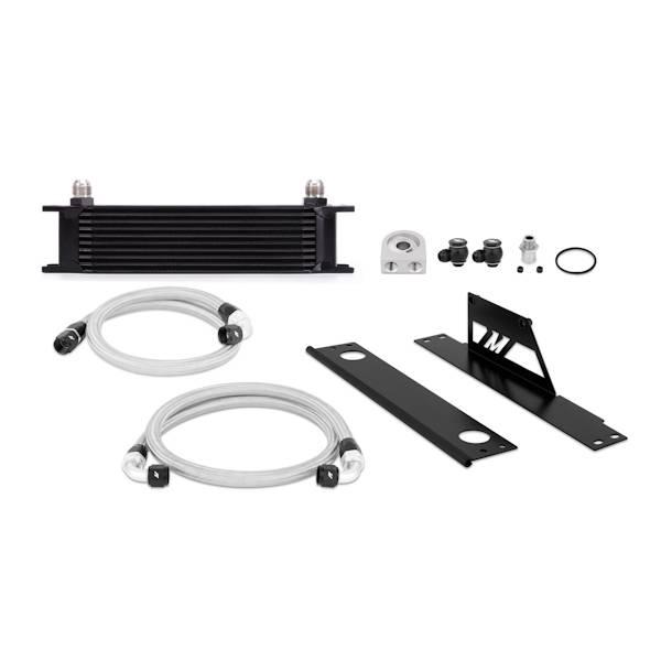 Mishimoto - FLDS Subaru WRX and STI Oil Cooler Kit, Black MMOC-WRX-01BK