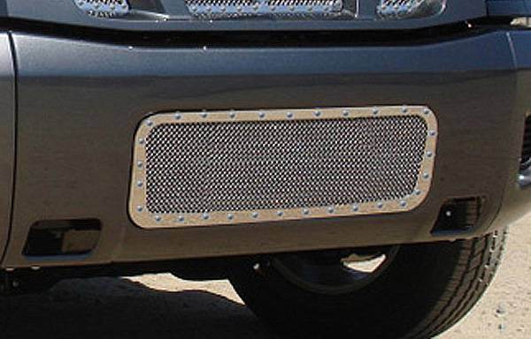 T-Rex - T-Rex X-Metal Bumper Grille, Polished, Stainless Steel, 1 Pc, Bolt-On 6727800