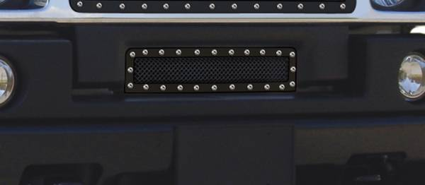T-Rex - T-Rex X-Metal Bumper Grille, Black, Mild Steel, 1 Pc, Insert 6722901