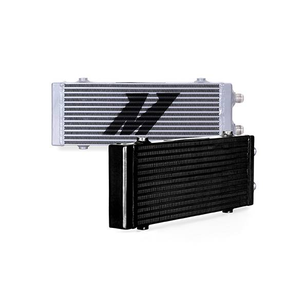 Mishimoto - FLDS Universal Dual Pass Bar & Plate Oil Cooler MMOC-DP-MBK