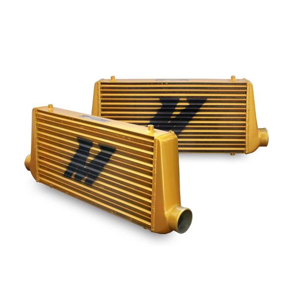Mishimoto - FLDS Mishimoto Universal Intercooler M-Line Eat Sleep Race Edition, All Gold MMINT-UMG