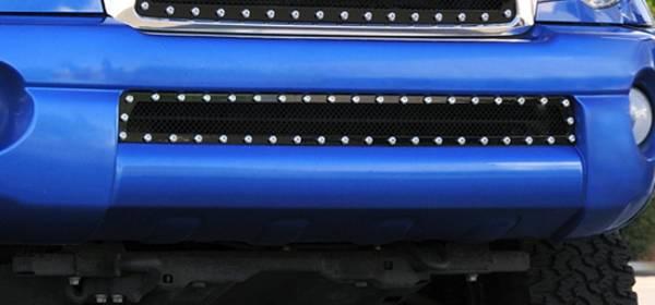 T-Rex - T-Rex X-Metal Bumper Grille, Black, Mild Steel, 1 Pc, Overlay 6728951