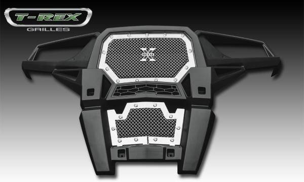 T-Rex - T-Rex X-Metal Grille, Polished, Stainless Steel, 1 Pc, Insert 6719010