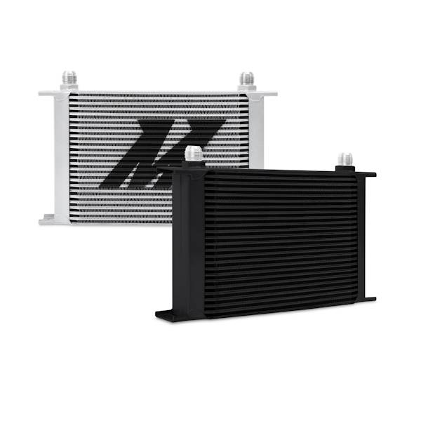 Mishimoto - FLDS Universal 25-Row Oil Cooler, Black MMOC-25BK
