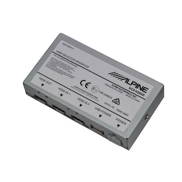 Alpine - Alpine HDMI Selector Module for X110-SLV, X110-SRA & X109-WRA KCX-630HD
