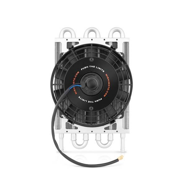 Mishimoto - FLDS Mishimoto Heavy Duty Transmission Cooler W/ Electric Fan MMOC-F