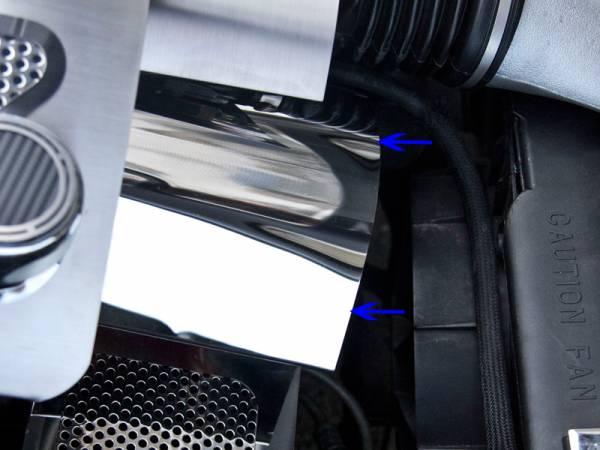 American Car Craft - American Car Craft Belt Tension Cover Perforated 033056