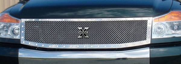 T-Rex - T-Rex X-Metal Grille, Polished, Stainless Steel, 1 Pc, Replacement 6717790