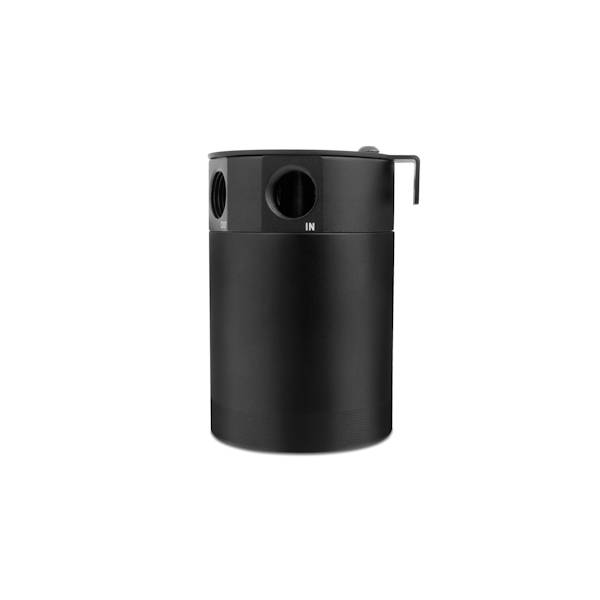 Mishimoto - FLDS Mishimoto Compact Baffled Oil Catch Can, 3-Port MMBCC-MSTHR-BK