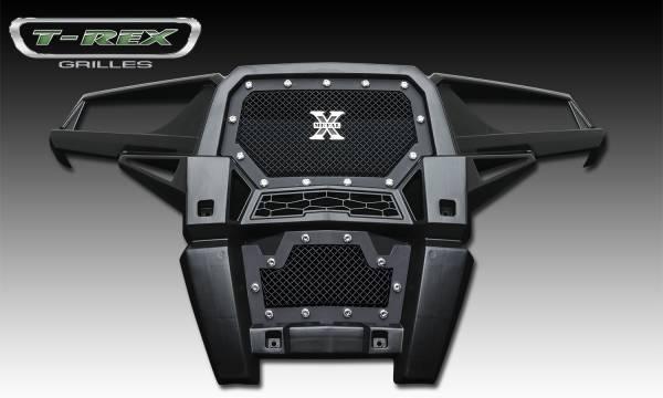 T-Rex - T-Rex X-Metal Bumper Grille, Black, Mild Steel, 1 Pc, Insert 6729011