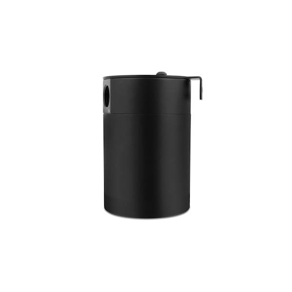 Mishimoto - FLDS Mishimoto Compact Baffled Oil Catch Can, 2-Port MMBCC-MSTWO-BK