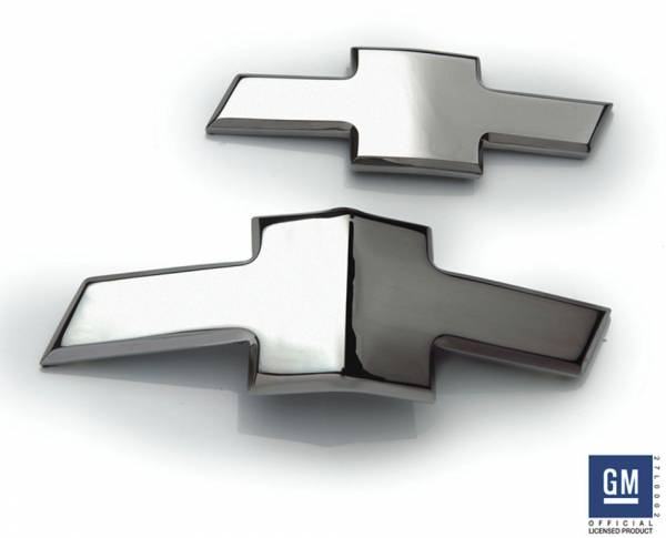 T-Rex - T-Rex Emblem Exterior Trim, Chrome, Aluminum, 1 Pc, Tape 6910012