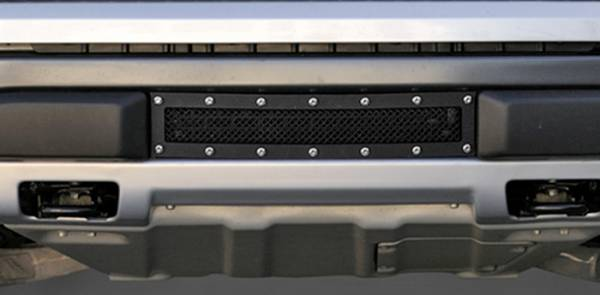 T-Rex - T-Rex X-Metal Bumper Grille, Black, Mild Steel, 1 Pc, Overlay 6725666
