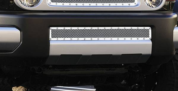 T-Rex - T-Rex X-Metal Bumper Grille, Polished, Stainless Steel, 1 Pc, Overlay 6729320