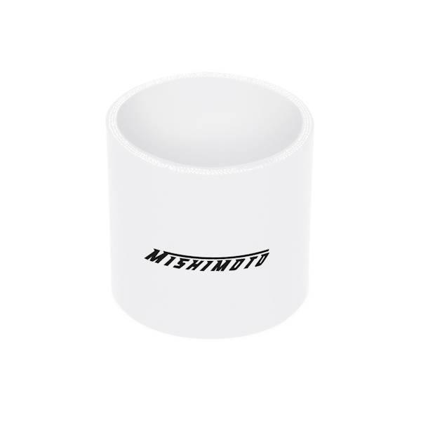 "Mishimoto - FLDS Mishimoto 2.5"" Straight Coupler MMCP-25SWH"