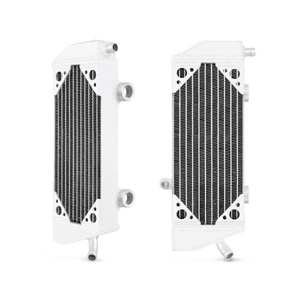 Mishimoto - FLDS KTM 250EXCF / 350SXF / 400EXC / 450EXC / 530EXC Braced Aluminum Radiator MMDB-KTM3-08LX