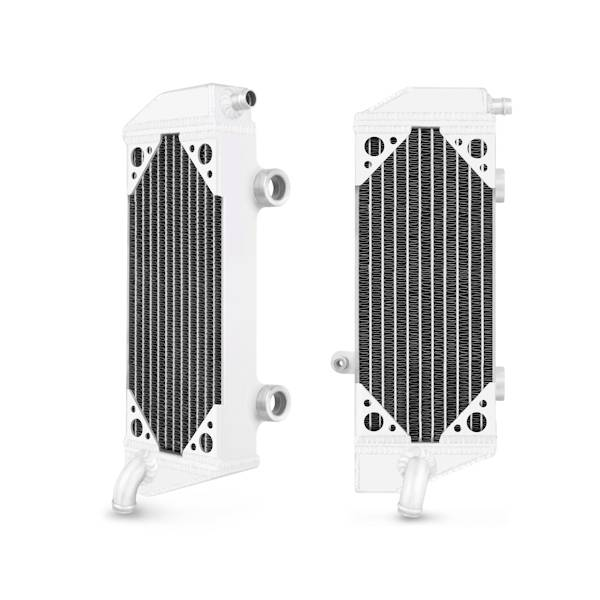 Mishimoto - FLDS KTM 450 SXF / 450 SMR / 450 XCF / 505 SXF / 505 XCF Braced Aluminum Radiator MMDB-KTM5-07LX