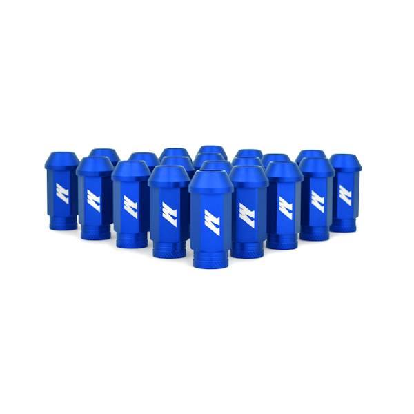 Mishimoto - FLDS Mishimoto Aluminum Competition Lug Nuts, M12 X 1.25 MMLG-125-BL