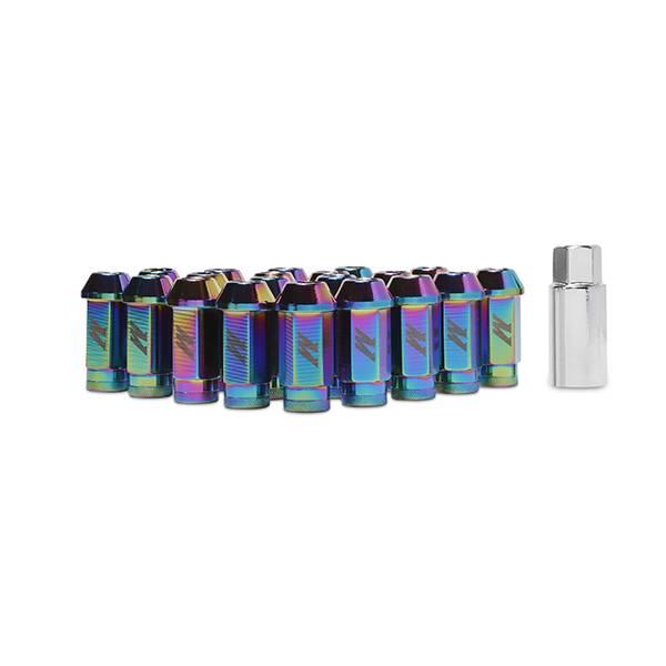 Mishimoto - FLDS Mishimoto Aluminum Locking Lug Nuts, M12 x 1.25 MMLG-125-LOCKNC