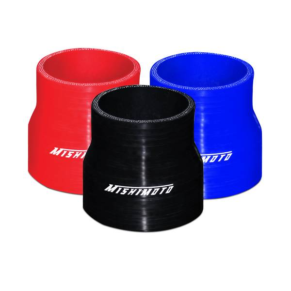 "Mishimoto - FLDS Mishimoto 2.5"" to 3"" Silicone Transition Coupler MMCP-2530BK"